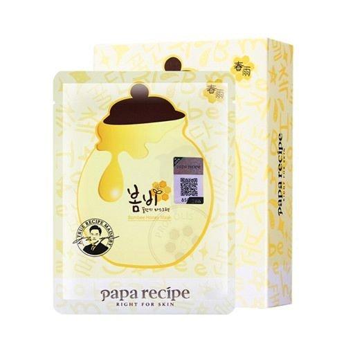 Papa Recipe春雨蜂蜜保湿营养面膜天然蜂胶面膜 10片装