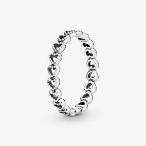 PandoraLinked Love Ring in Sterling Silver