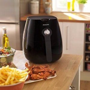 半价闪促£99.99 兼顾美食健康神器Philips HD9220/20 无油空气炸锅 黑色特卖