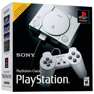 仅需$29.99 重温童年的快乐Sony PlayStation Classic 复刻版PS1主机 不错的复古装饰品