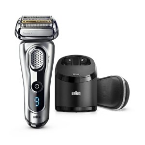 BraunSeries 9 9290cc ($60 in Rebates Available) Men's Electric Foil Shaver, Wet and Dry Razor with Clean & Charge Station