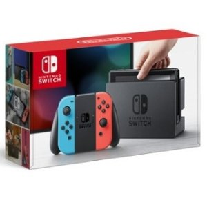 Nintendo Switch Console with Gray Joy-Con Wireless Controllers