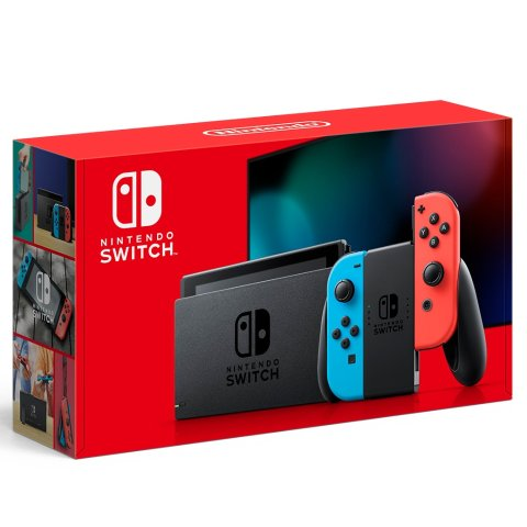 $299.99Nintendo Switch Console with Neon Blue & Red Joy-Con
