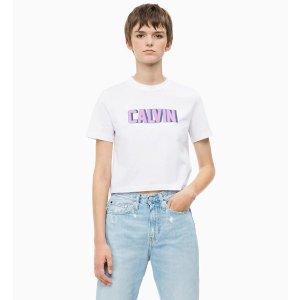 Calvin Klein Jeanslogo短袖