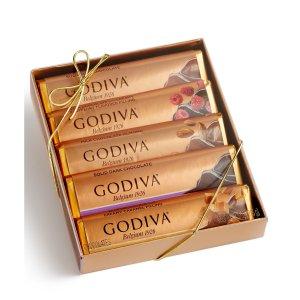 现价$9.6 (原价$15)Godiva 收五条装巧克力特卖