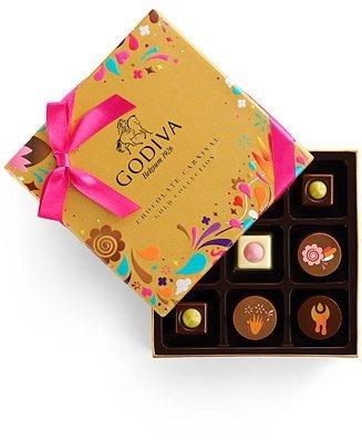 金装巧克力礼盒 9颗