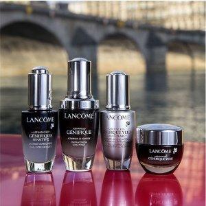 最高送价值$245好礼Lancôme 全场美妆大促 收超值双黑瓶精华套装