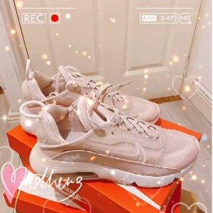 Nike码较全 橡胶材质鞋底 女士粉色Air Max 2090 气垫鞋
