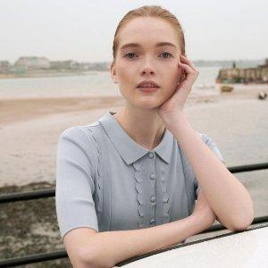 低至5折 €102收封面同款Ted Baker官网 夏季大促开始 经典英伦美衣 秒变温婉气质风
