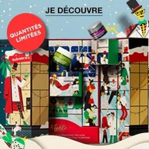 仅售€89+包邮+送豪华6件套Kiehl's 官网 2020圣诞日历上架 24件明星产品总价值€193
