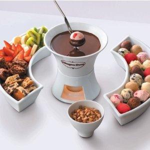 哈根达斯巧克力火锅双人代金券7.2折 坐标法兰