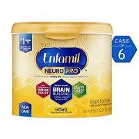 Enfamil 最新版NeuroPro婴儿配方奶粉 20.7盎司,6罐