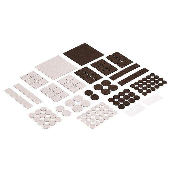 Amazon Basics 静音耐磨毛毡家具保护垫 166件