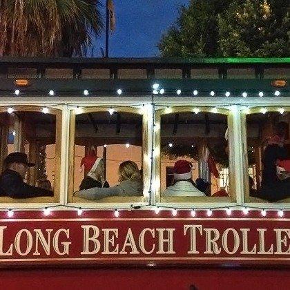 洛杉矶长岛城市圣诞灯导览