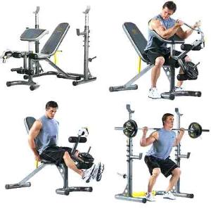 $139(原价$174) + 免邮Gold's Gym XRS 20 健身器械,家里有它就够了