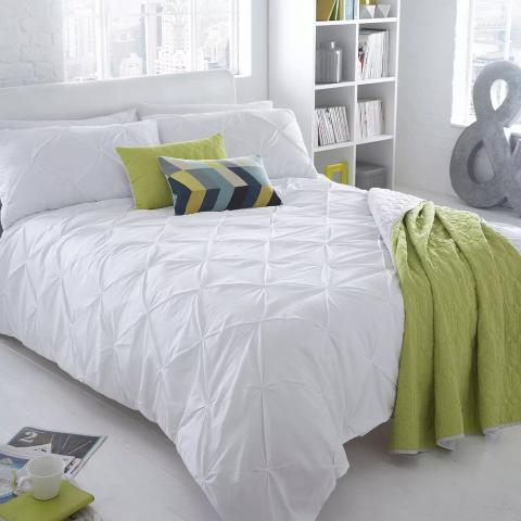 低至5折 被套£14收闪购:Debenhams 床上用品清仓价 快来收超好看床单、被套、枕套