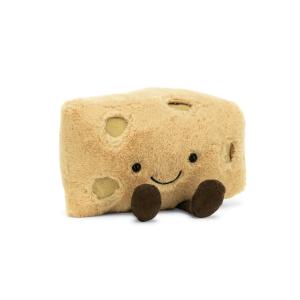 $12.5起 包邮Jellycat 毛绒玩具热卖,新增瑞士奶酪公仔