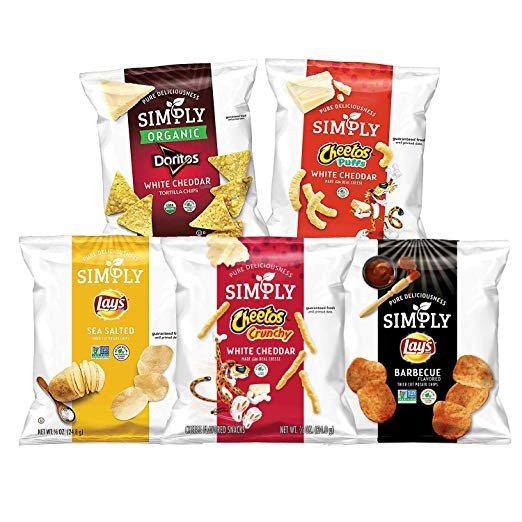 乐事有机食品 薯片 奇多 Doritos混合超值包 36包