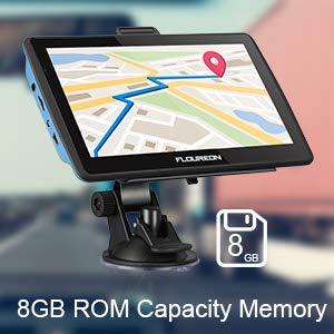 $32(原价$86.99)FLOUREON 7寸LCD超大屏 多功能GPS导航仪
