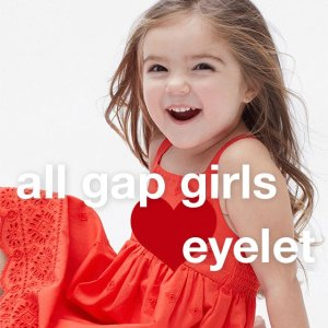 50% Off All Kids Dresses+ Up to 50% Off Every Single Thing @ Gap