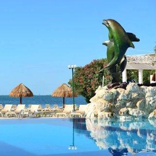 $95/人起 含住宿+餐饮+娱乐墨西哥坎昆4星级一价全包度假村 9月淡季低价