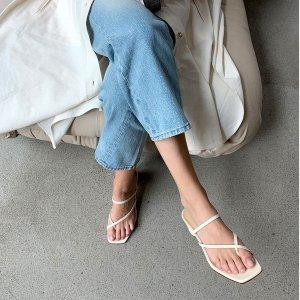 5折起+额外7折 €102收奶茶色穆勒鞋AEYDE 德国小众美鞋 超舒服 高颜值 妥妥低调地发光