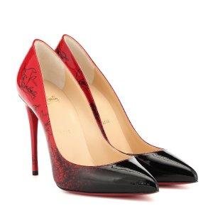 Christian LouboutinPigalle Follies 100 patent 高跟鞋