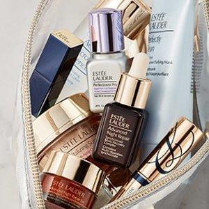 变相买2送1 送小棕瓶+眼霜补货:Estee Lauder 明星护肤Mini size 旅行携带超方便