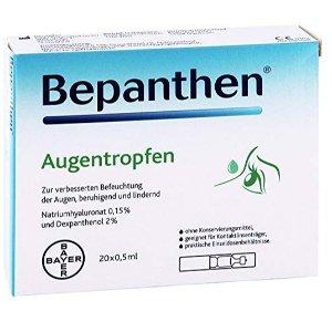 现价€8.16(原价€8.59)拜尔制药 Bepanthen 滴眼液 20个装 特价