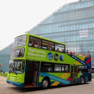 72折 听魔戒演员讲解景点曼彻斯特观光巴士 15个景点一次游 £18
