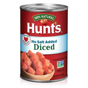 Hunt's Diced Tomatoes No Salt 14.5oz 12cans