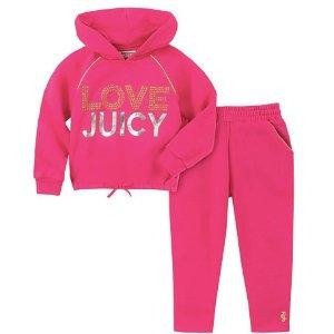 低至3折 超大码T恤$9.99起即将截止:Juicy Couture、Nautica 等儿童服饰优惠