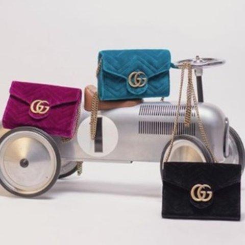 低至2折+满额最高减$50 Acne围巾$194即将截止:Mia Maia大牌专场,Gucci相机包$870,YSL卡包$137