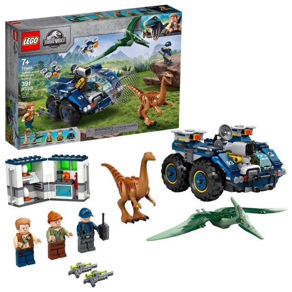 Lego 似鸡龙和翼龙越狱 75940   侏罗纪世界系列