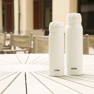 350ml仅€23!可保温20小时Prime Day 狂欢价:THERMOS 纯白保温杯好价 多容量可选 多喝热水yyds