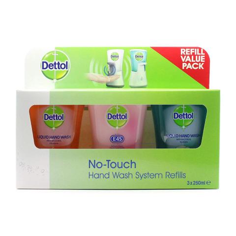 三瓶套装€8.99手慢无:Dettol滴露 消毒洗手液套装热卖 英国皇室御用除菌品牌