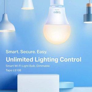 折后仅€9.9 手机控制更方便闪购:TP-Link Tapo 智能WIFI灯泡热促 可连接语音助手