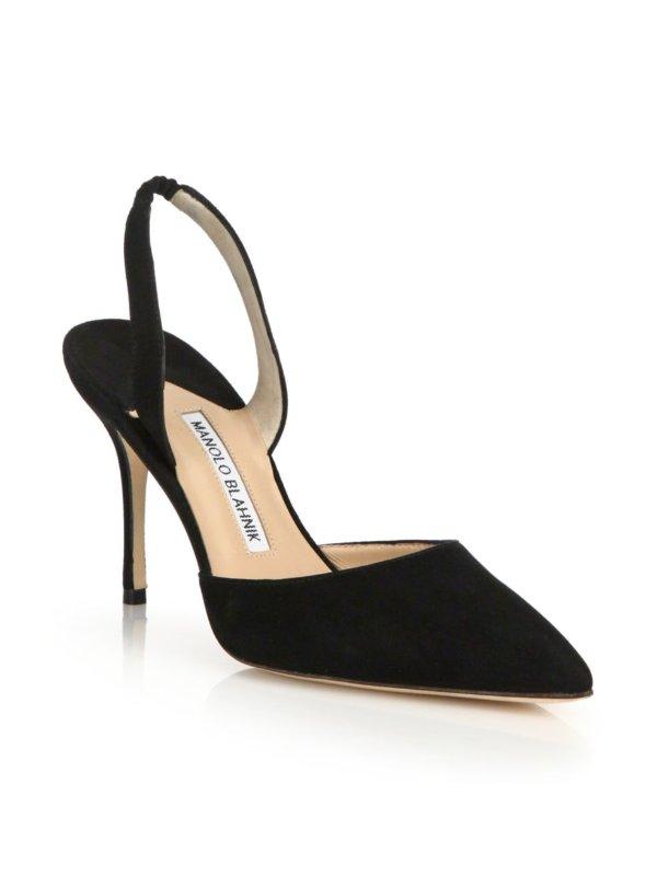 - Carolyne 麂皮高跟鞋