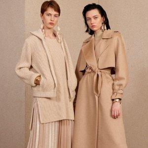 低至6折 £733收羊毛大衣Max Mara官网 冬季大促上线 大衣、羽绒服绝好价入手!