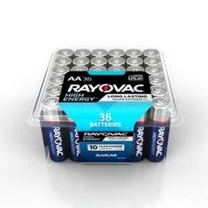 Rayovac High Energy Alkaline AA Batteries