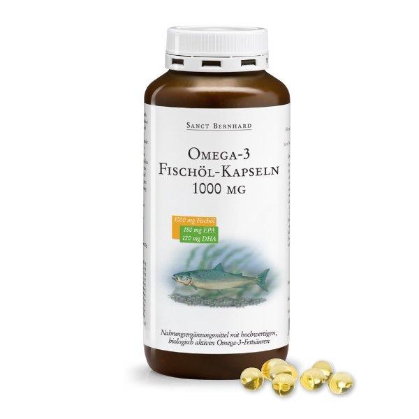 Omega-3 鱼油1000 mg 220粒