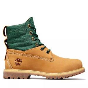 Timberland拼接靴子