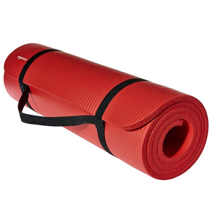 $16.98AmazonBasics 1/2寸 家用健身瑜伽垫 多色可选