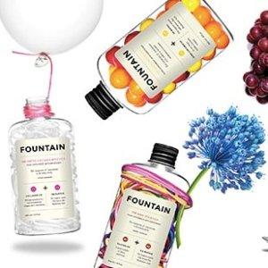 满$100减$20 + 免运费Fountain, Stemm, Hif 加拿大本土明星品牌,玻尿酸、美白口服液必入