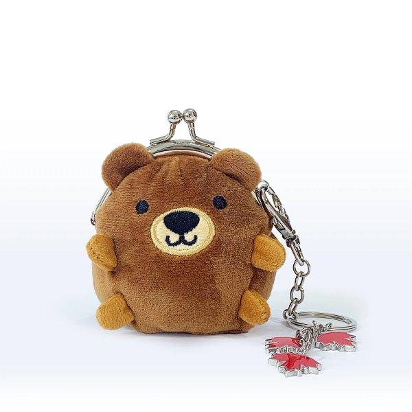 棕熊零钱包
