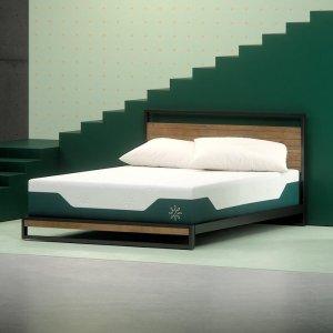 8.5折Zinus iCoil 系列记忆棉弹簧床垫热卖,多尺寸可选