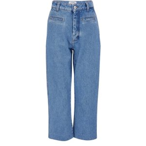 Loewe渔夫牛仔裤