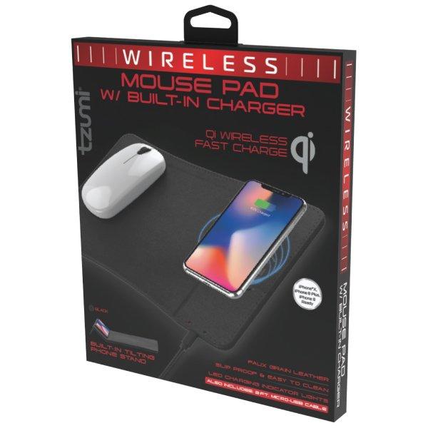无线充电鼠标垫