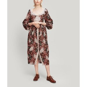 Valentine Tana Lawn™ Cotton Puff Sleeve Dress