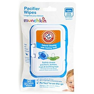 Amazon.com: Munchkin 36 Pack Arm and Hammer Pacifier Wipes, White: Health & Personal Care